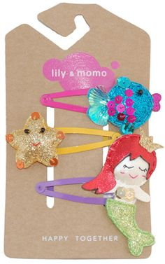 Under The Sea Trio by Lily and Momo. www.lilyandmomo.com