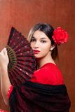 Flamenco Dancer. Spanish Girl With Fan - Download From Over 59 Million High Quality Stock Photos, Images, Vectors. Sign up for FREE today. Image: 20339031