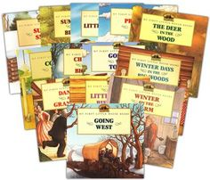 My First Little House Books Collection, 13 Volumes - Portions of Laura Ingalls Wilder stories are illustrated in the Garth Williams style. Very lush looking pictures! 2nd Grade Reading, Homeschool Kindergarten, Book Study, Chapter Books, Home Schooling, Read Aloud, Book Collection, Book Activities, Lesson Plans