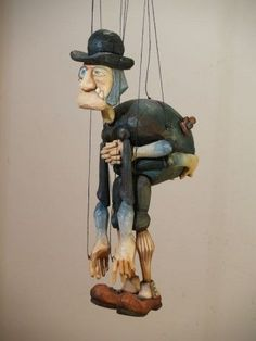 Marionette Puppet, Puppets, Wooden Puppet, Wooden Toys, Puppet Show, Shadow Play, Disney Costumes, Stop Motion, Doll Toys