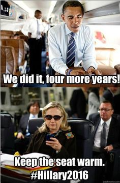 #HILLARY2016 and Elizabeth Warren in 2024!