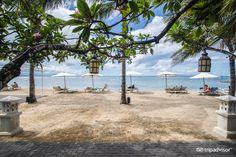 Griya Santrian - view from Wantilan restaurant