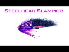 Recently some cool new Steelhead patterns have come out like the Dirty Hoh and Camo Squid designed by Jerry French and the Steelhead Monster and Slammer by myself. Let take a look at what make them special and what materials are used to tie them. Fly Fishing Gear, Fly Fishing Rods, Steelhead Flies, Fly Tying Materials, Hobbies For Couples, Atlantic Salmon, Stone Columns, Salmon Flies, Fly Tying Patterns