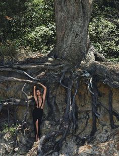 visual optimism; fashion editorials, shows, campaigns & more!: splash out: edita vilkeviciute by gilles bensimon for vogue australia june 2014 #fashion #photography