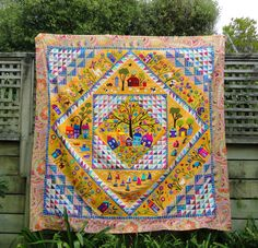 Wendy's quilts and more: And where am I up to with my embroidery?