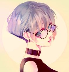 Drawing Girl Character Design Animation Ideas For 2019 Art Anime Fille, Anime Art Girl, Manga Art, Manga Anime, Anime Girls, Anime Girl Short Hair, Girls With Short Hair, Gothic Anime Girl, Manga Drawing