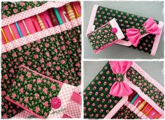 SMALL SET Knitting Needles, Gift Wrapping, Cases, Crochet, Handmade, Gifts, Gift Wrapping Paper, Hand Made, Presents