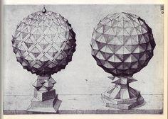 Perspectiva Corporum Regularium - Wenzel Jamnitzer 1568 l, / Sacred Geometry <3