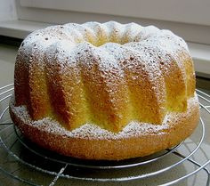 Kokoskuchen mit Kokosmilch Coconut cake with coconut milk, a popular recipe from the cakes category. German Baking, Austrian Recipes, Pound Cake Recipes, Love Eat, Paleo Dessert, Sweet Cakes, Popular Recipes, No Bake Cake, Sweet Recipes