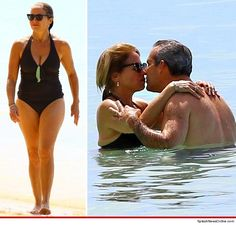 Katie Couric looks BANGIN' Barbados!