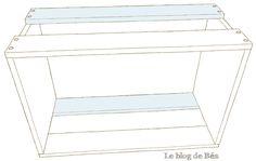 Pas à pas : table basse bar - Le blog de Béa