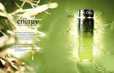 Kanji Ishii for Lancome USA's Energie de Vie.