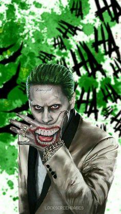I will make every momy of their life hopness to duy Joker And Harley Tattoo, Joker Y Harley Quinn, Harley Tattoos, Harley Quinn Drawing, Joker Photos, Joker Images, Joker Hd Wallpaper, Joker Wallpapers, Jared Leto Joker
