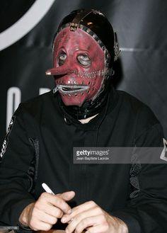 Chris Fehn of Slipknot during Slipknot In-Store Appearence At Virgin Megastore In Paris at Virgin Megastore in Paris, France.