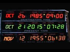 October 21, 2015 Marty McFly is set to make an appearance