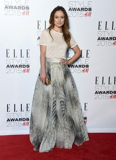 Olivia Wilde Long Side Part - Olivia Wilde Looks - StyleBistro