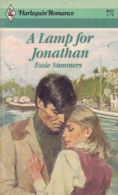 A Lamp for Jonathan by Essie Summers Illustrator:... - Vintage Harlequin Romance Cover Art