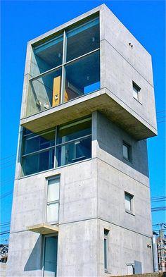 4 x 4 casa casa de 4 x 4 de tadao ando tadao ando for Casa moderna 4x4