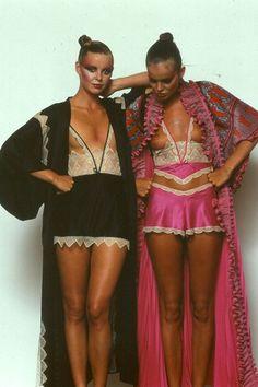 Zandra Rhodes lingerie, circa 1977