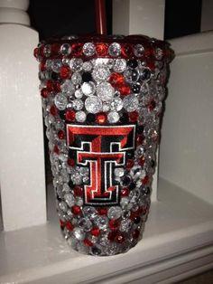 Texas Tech University TTU Wreck Em Guns Up Red Raiders Bleed Red & Black Lubbock, Texas