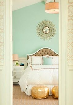 Mint & Gold, un toque chic - Decoración mint, la nueva tendencia decorativa