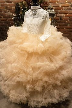 """""""Calypso Nightfall""""... An Exquisite Special Occasion Gown. The Perfect Flower Girl Dress!"""