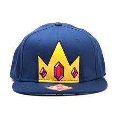 Nerdy Wish List - Ice King Cap from Forbidden Planet Fashion Line, Cute Fashion, Ice King, Kings Crown, Snap Backs, Mens Caps, Snapback Cap, Sock Shoes, Caps Hats