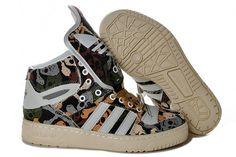 Adidas x Jeremy Scott Metro Attitude Hi Black Orange White 2013