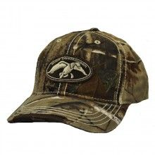 6 Panel Realtree hardwoods Cap with Duck Commander Logo on front. $16.95