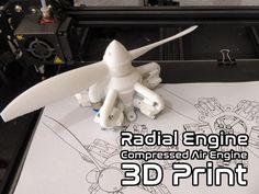 Radial+Engine+(+Compressed+Air+Engine+)+Experimental+by+ZekeAsakura.
