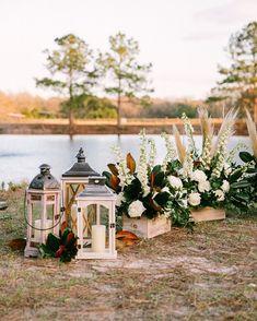 wedding ceremony decor idea