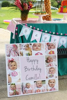 Flamingos Birthday Party Ideas | Photo 9 of 19 | Catch My Party