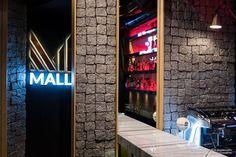 "Bar &Coffee House ""MALL"" Veria Greece ,by Dimitris Koukoudis Architect Mall, Greece, Neon Signs, House, Inspiration, Coffee, Greece Country, Biblical Inspiration, Kaffee"