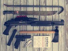 Zombie hunter starter kit.