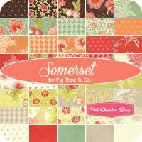 Somerset MINI Charm PackFig Tree Quilts for Moda Fabrics