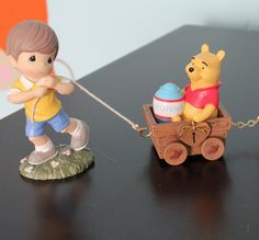 Winnie The Pooh Birthday Train Collection by Precious Moments