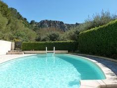 The pool at the heavenly L'Olivette .... #naturist #gite #naturistgite #handluggageholidays