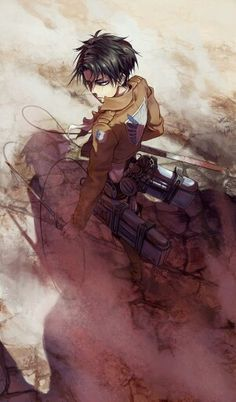 Shingeki no Kyojin | Attack On Titan | Anime | Heichou | Rivaille | Levi Ackerman | Art