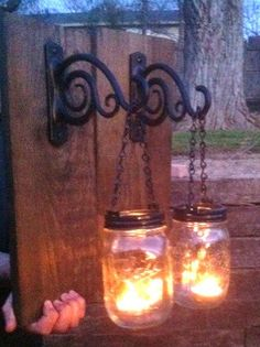 Hey, I found this really awesome Etsy listing at https://www.etsy.com/listing/184806210/mason-jar-candle-holder
