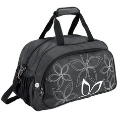 20' Fashionable Flowers Pattern Sports Gym Tote Bag Travel Carryon * Continue to the product at the image link. (This is an Amazon Affiliate link)