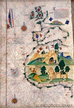 C0075232-Portuguese_sea_chart,_16th_century-SPL.jpg (362×530)