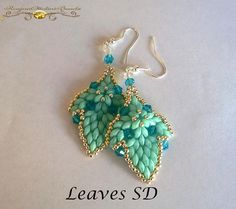 Tutorial Earrings Leaves SD  Tutorial grafico in italiano and