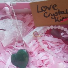 February's Crystal Collective Subscription Box is here! Love and Relationships box
