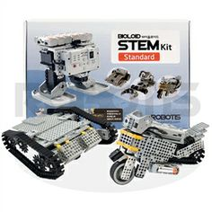 From Maker Shed - Bioloid robot maker kit - STEM lessons
