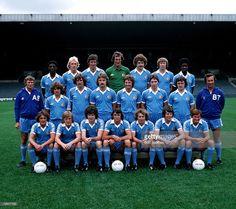 Sport, Football, Manchester City Team Photo, Circa L-r: Palmer,. Retro Football, Vintage Football, Sport Football, Football Players, Manchester Football, Manchester City, Team Photos, Blue Moon, The Past