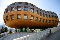 Norman Foster - Chesa Futura, St Moritz, Switzerland, 2004