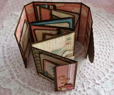 Hi all, I am back with my mini album tutorial and the finished mini!! Today I am going to do my best to share with you how to make this cu...