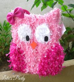 Lalas Party: Owl Themed Parties for Girls and Boys. Custom Owl Pinata by Lala's Party