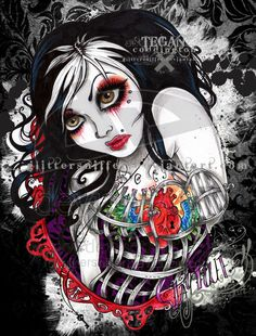 Artist: Tegan Cottington  ~  Image Title: callowliy 2008