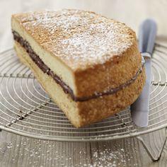 Gâteau de Savoie au Nutella